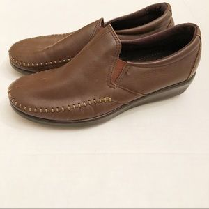 SAS Slip On Brown Shoes